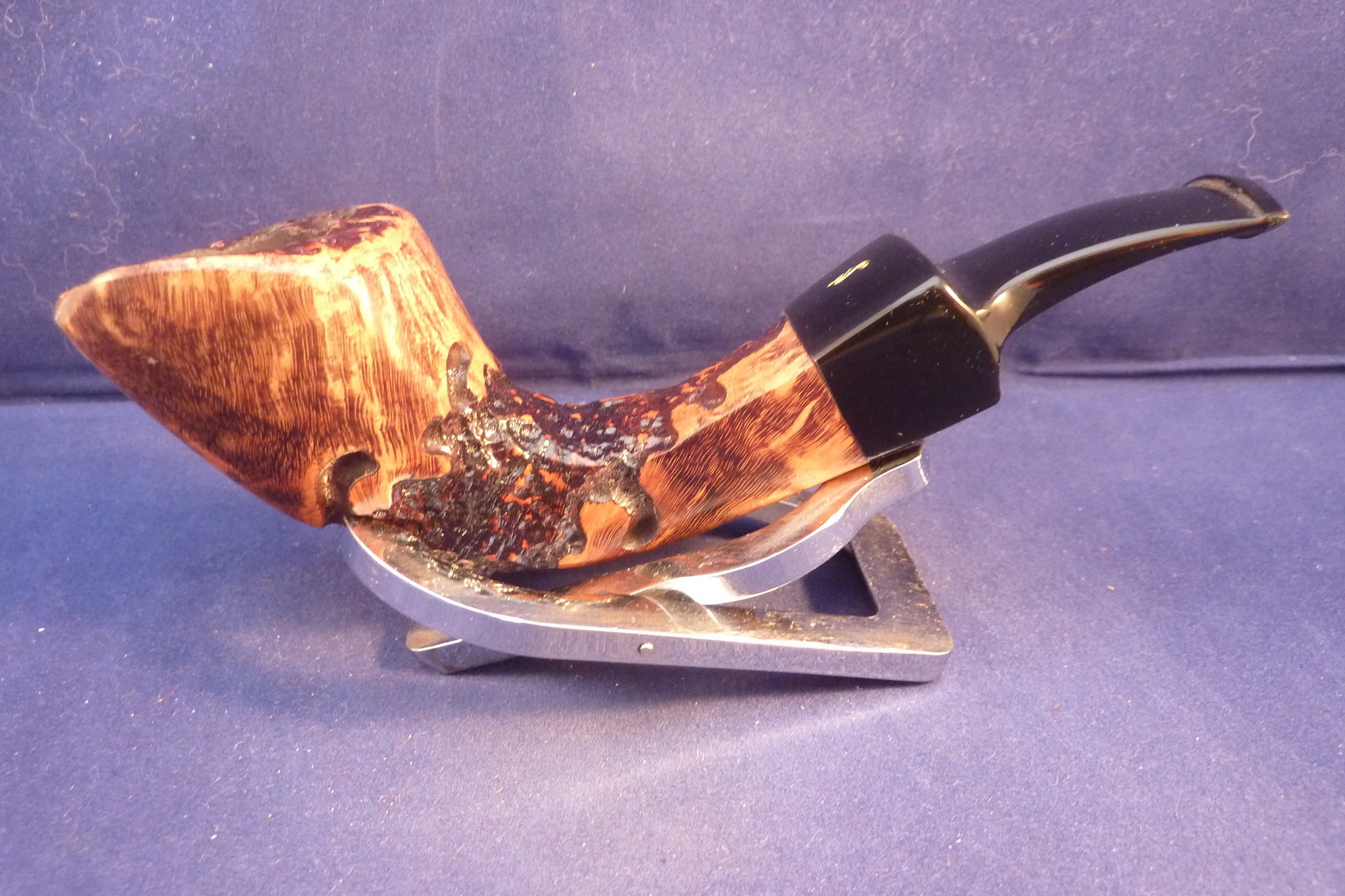 Sold Smoking Pipe Nording Hunting Serie 2014 Crocodile Rustic