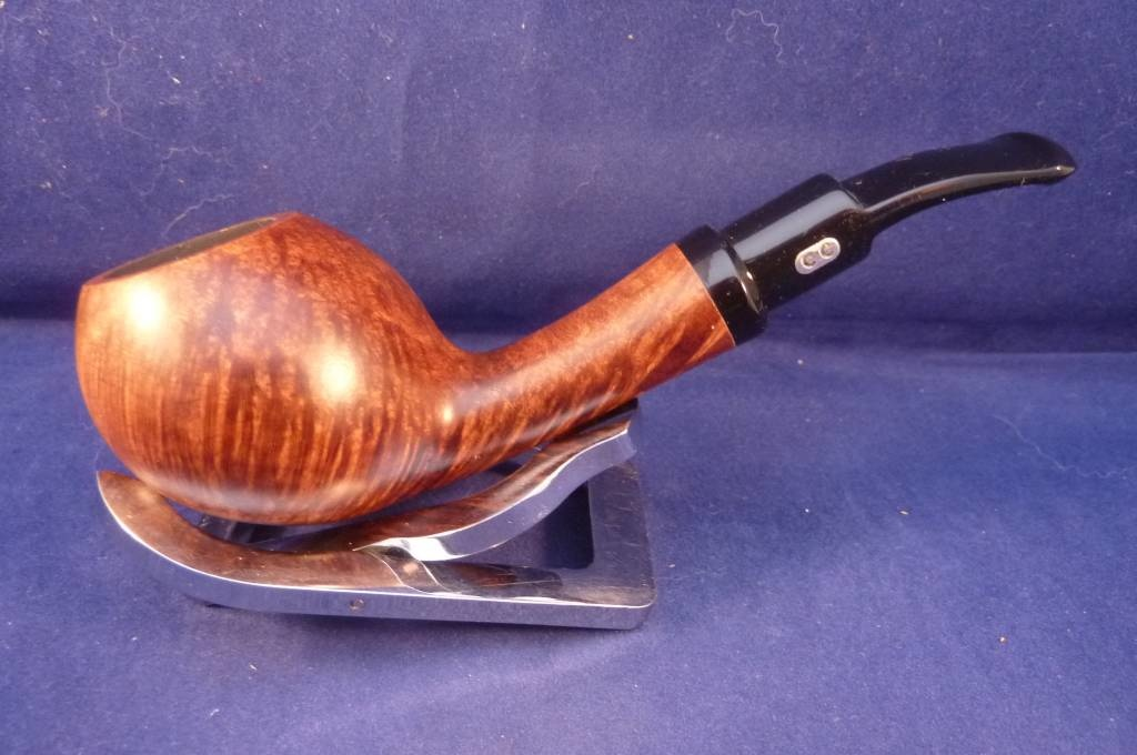 Sold Smoking Pipe Chacom Anton Designed by Tom Eltang Brown Matte