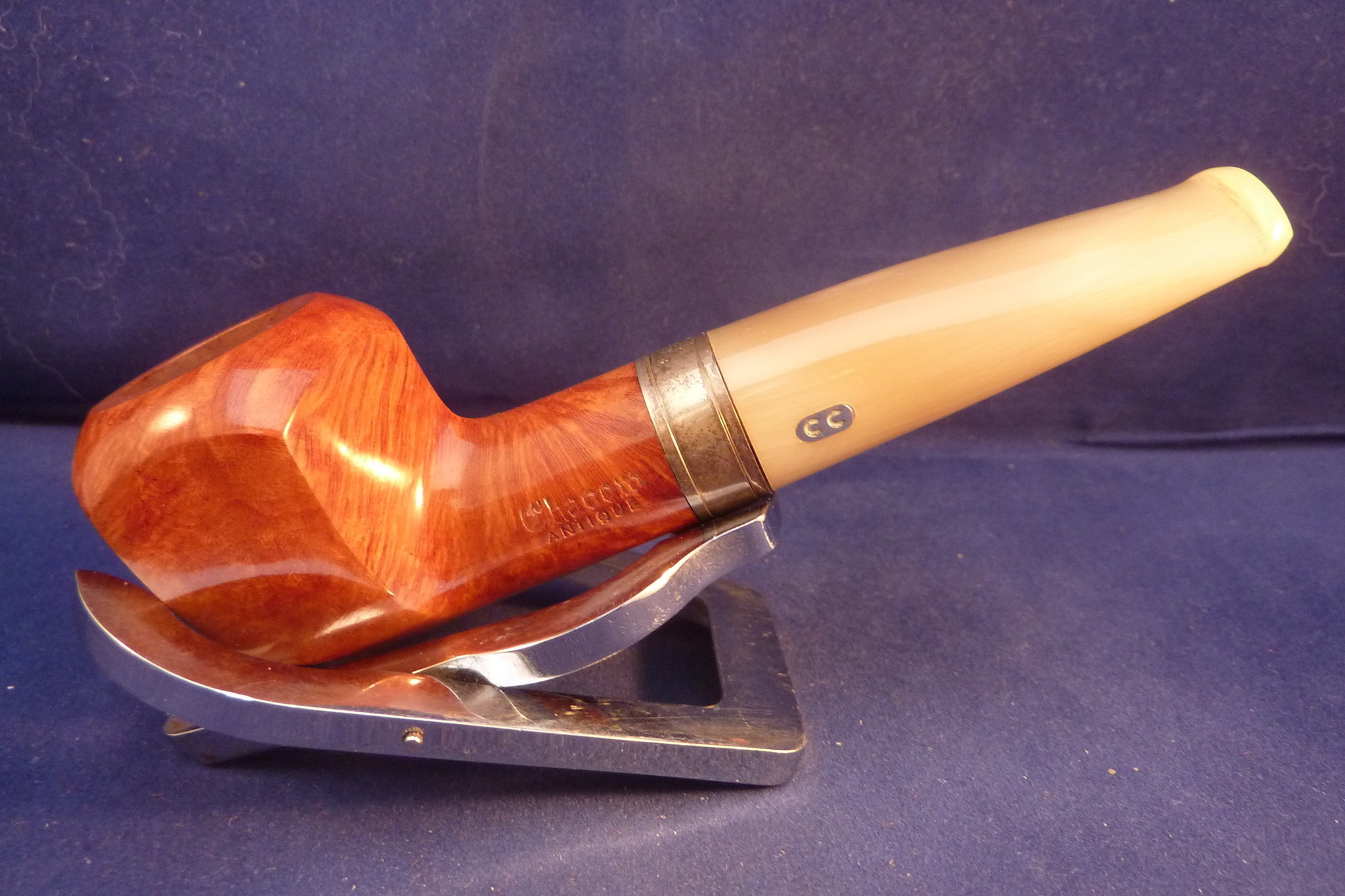 Sold Smoking Pipe Chacom Antique 43