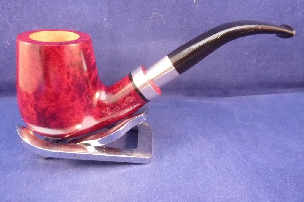 Sold Smoking Pipe Caminetto (05) Smooth Bent Billiard