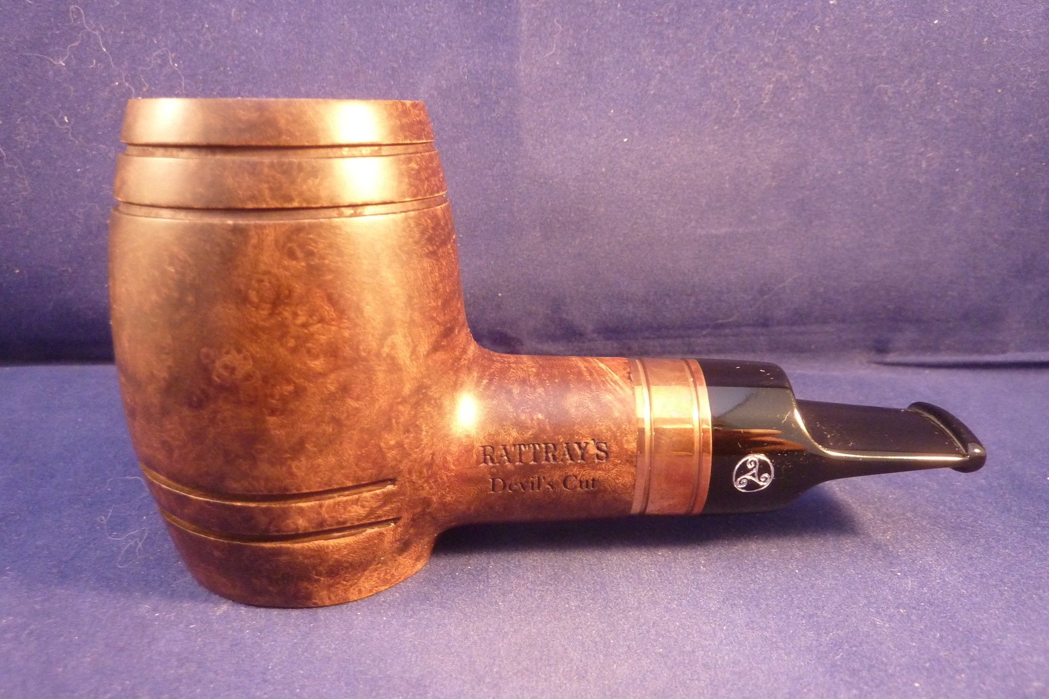 Sold Smoking Pipe Rattray's Devil's Cut Brown