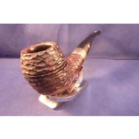 Pipe Peterson Sherlock Holmes Deerstalker Rusticated