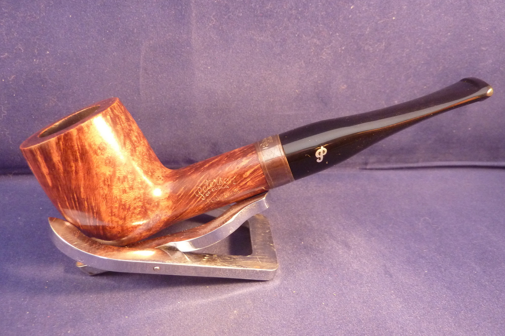 Sold Smoking Pipe Peterson Flame Grain X105