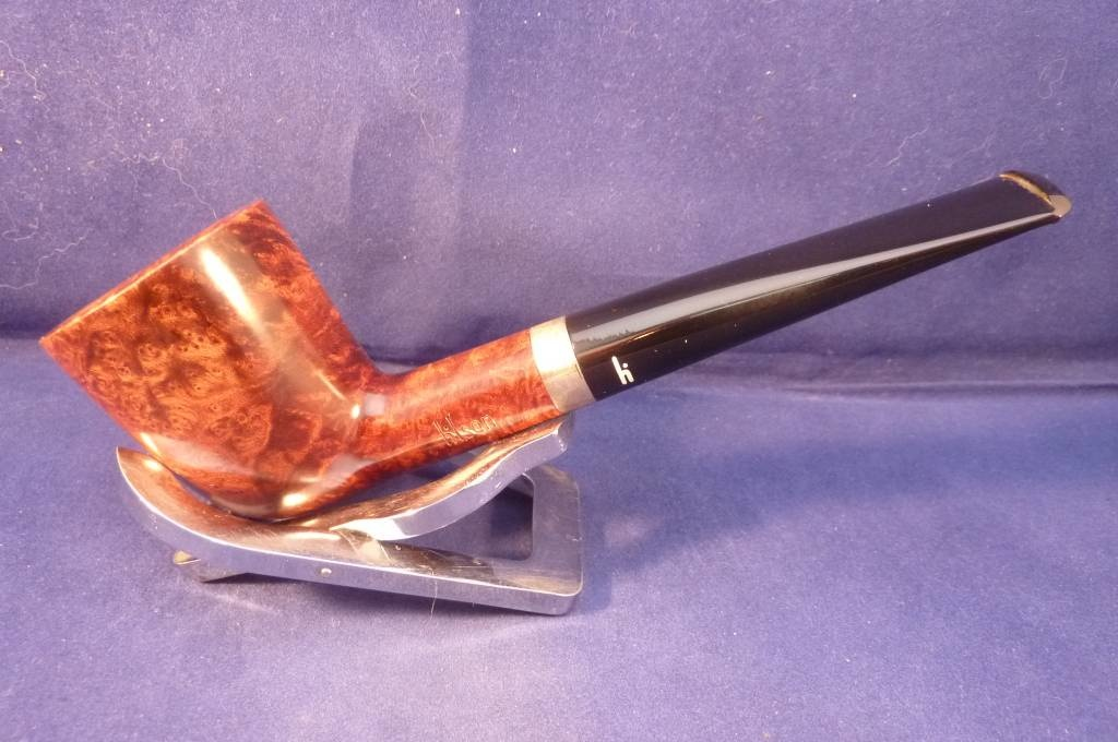 Sold Smoking Pipe Hilson Designed by Rainer Barbi Walnut XII