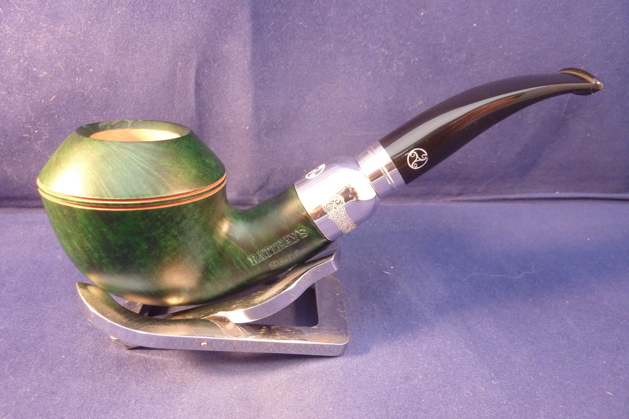 Sold Smoking Pipe Rattray's Pipe of the Year 2020 Green