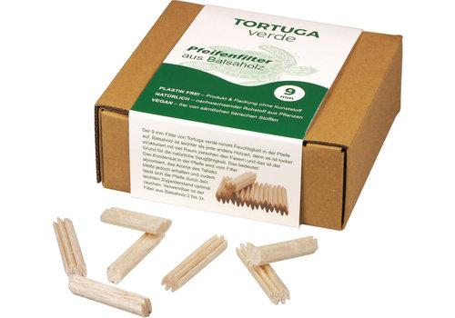 Tortuga Balsa Filter 9 mm. 150 pcs.