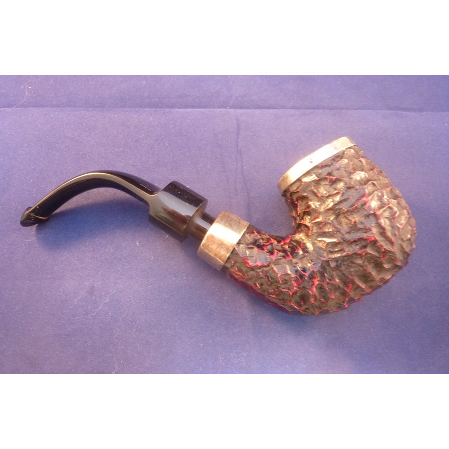 Pijp Peterson House Pipe Rustic Silver Cap
