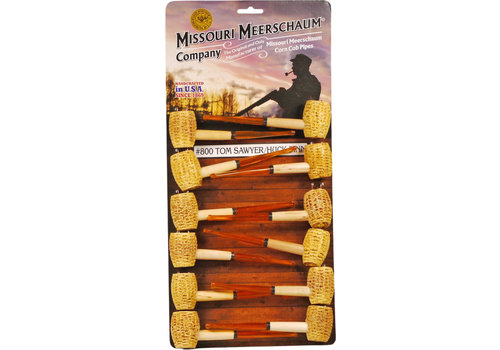 Pipe Missouri Meerschaum Corn Cob Huck Finn