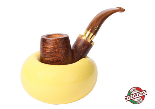Pipe Stand Chacom Ceramic Yellow