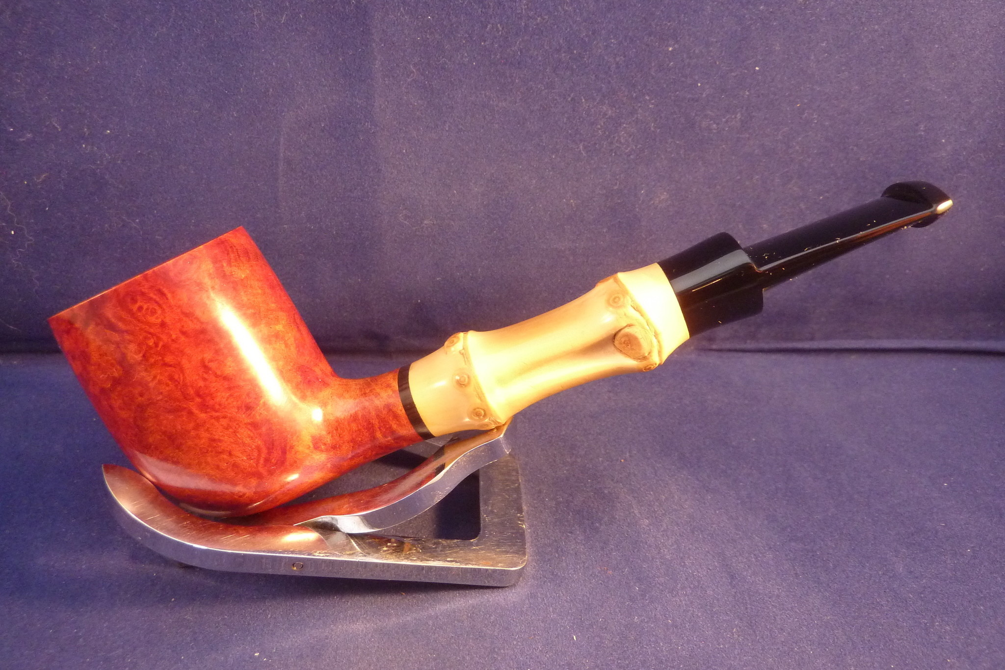 Sold Smoking Pipe Tsuge Bamboo Straight Smooth