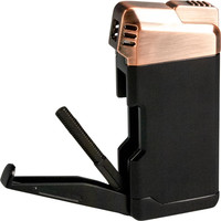 Pipe Lighter Passatore Henry Black/Copper