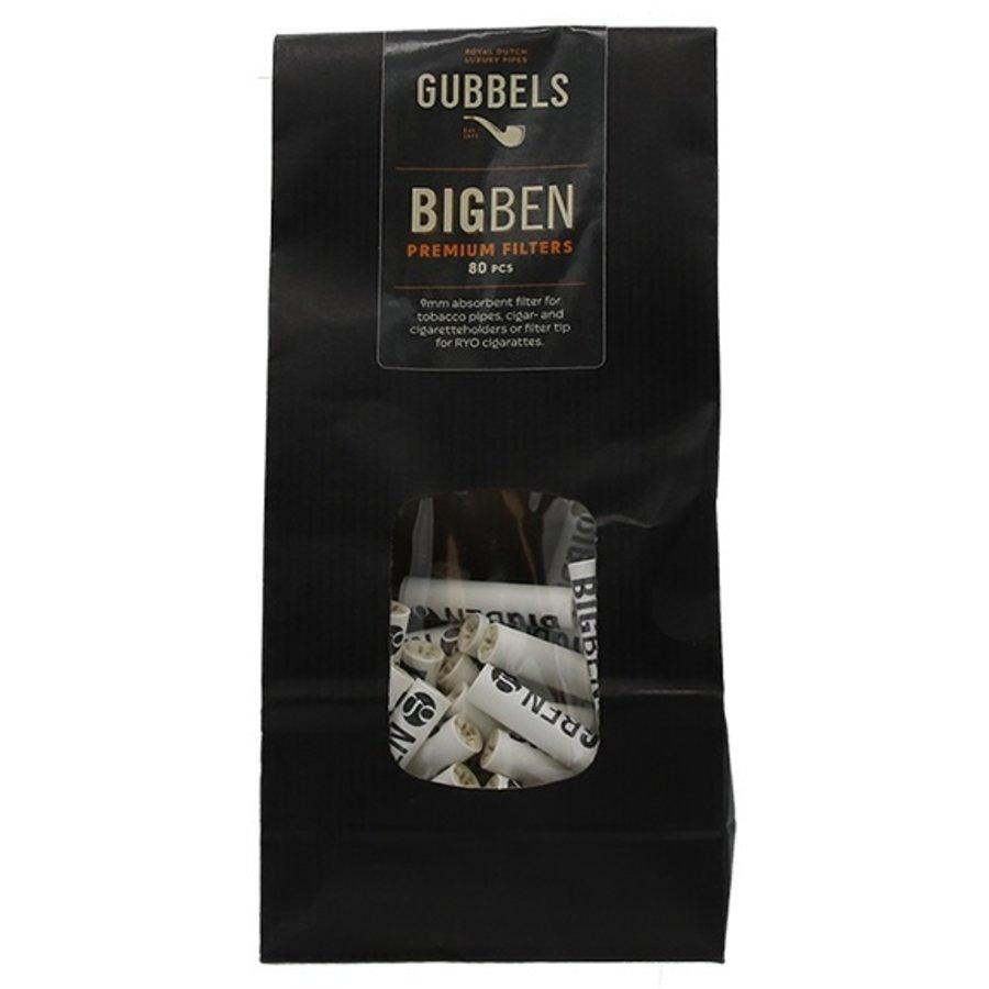 Big Ben Pipe Filter Bag of 80