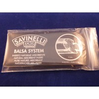Savinelli Balsa Filter 9 mm. 15 pcs.