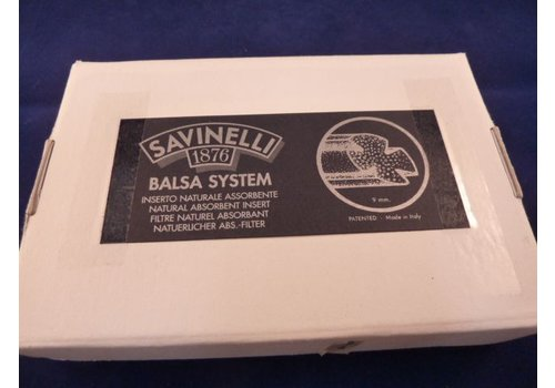 Savinelli Balsa Filter 9 mm. 200 pcs.
