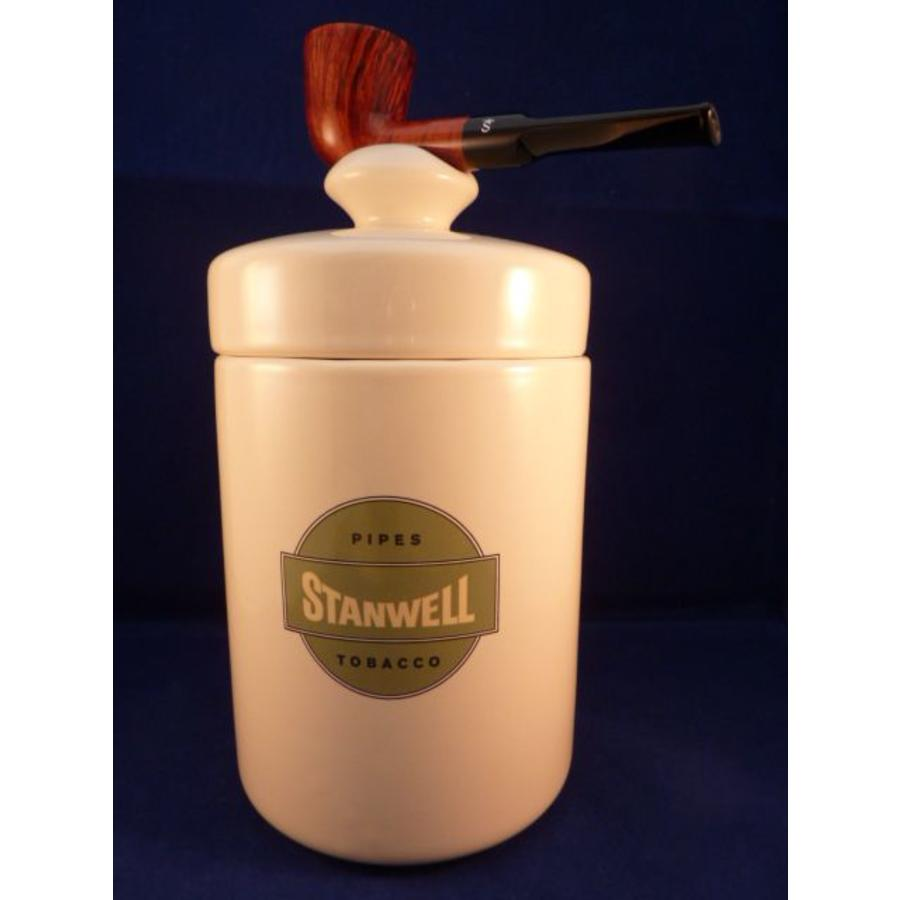Pijp Stanwell Tobacco Jar Smooth Brown