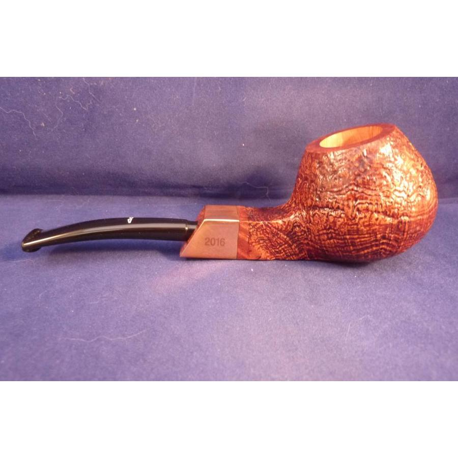 Pijp Caminetto Pipe of the Year 2016 Sandblasted