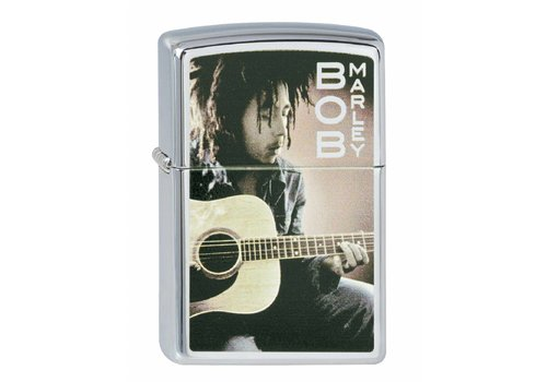 Lighter Zippo Bob Marley Rebel Music