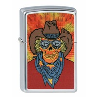 Lighter Zippo Cowboy Skeleton