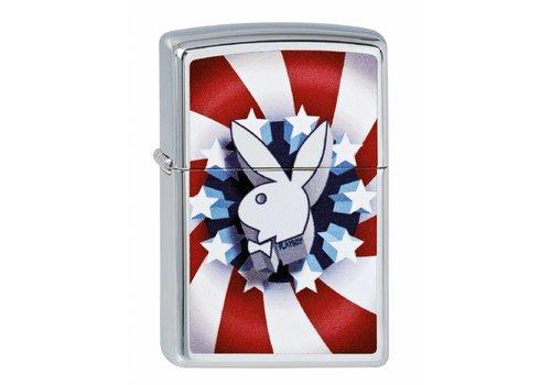 Lighter Zippo Playboy Red White Blue