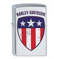 Lighter Zippo Harley Davidson Flag