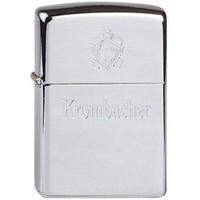Lighter Zippo Krombacher Chrome