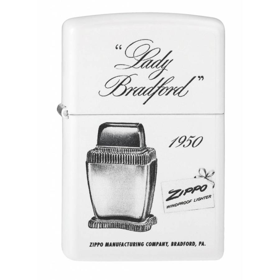 Aansteker Zippo Lady Bradford 1950