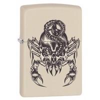 Lighter Zippo Scorpion Skull