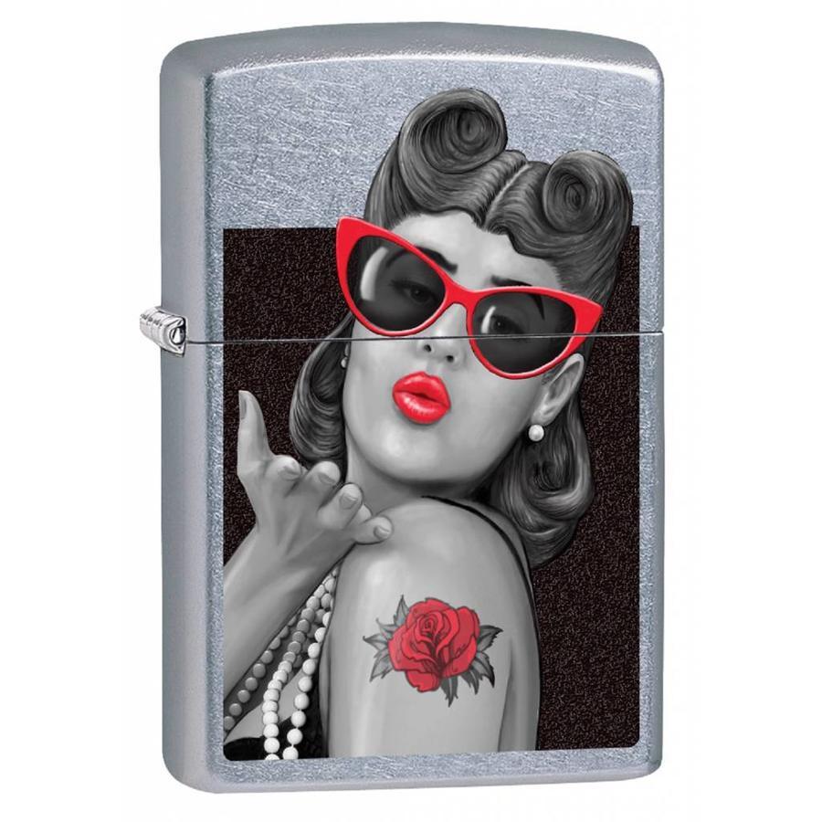 Aansteker Zippo Rockabilly Lip Gloss