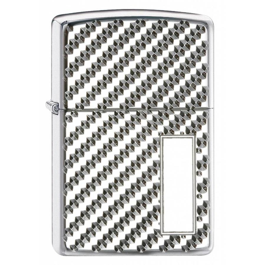 Lighter Zippo Armor Case Engine Turned Pebble