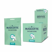 Mascotte Slim Filters 6 mm. Menthol Box
