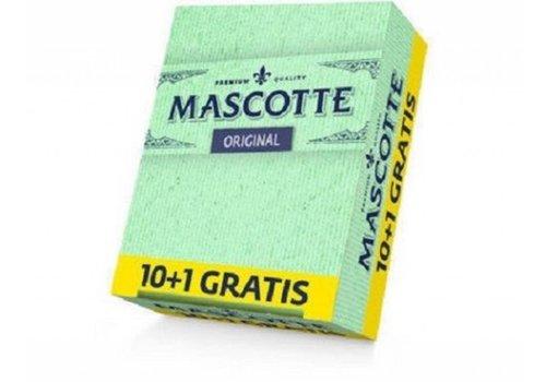 Mascotte Original Rolling Paper 10+1 Pack