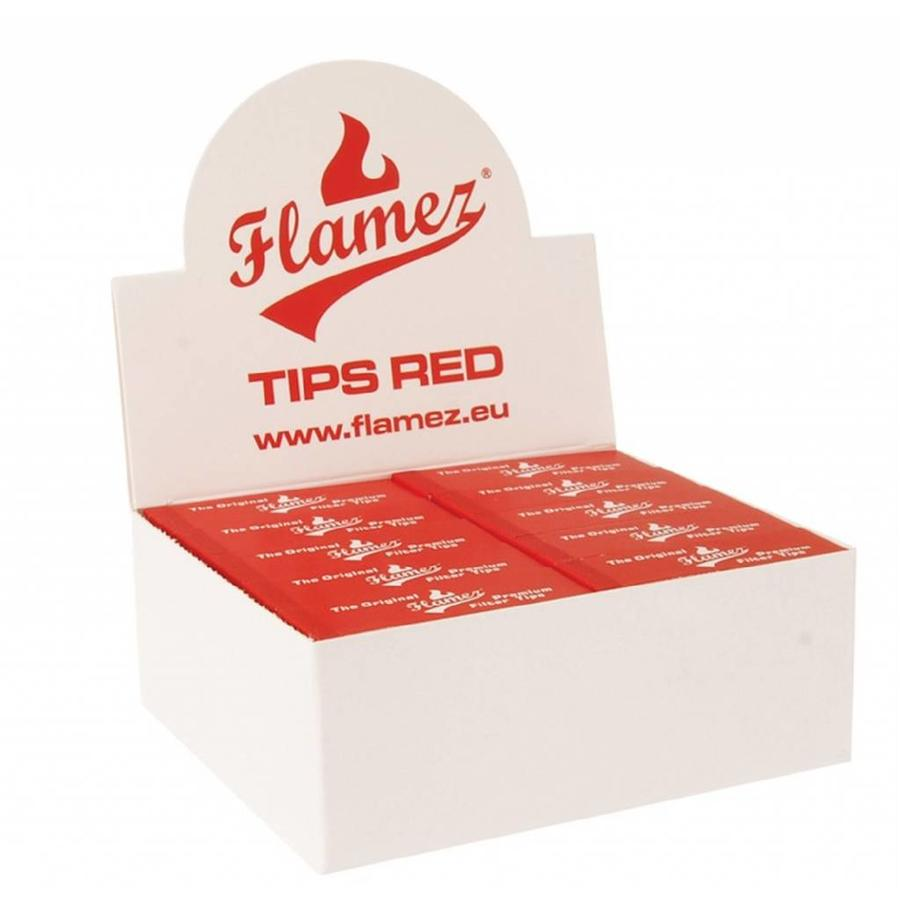 Flamez Tips Box Red Budget
