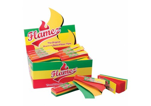 Flamez Rasta Tips Box