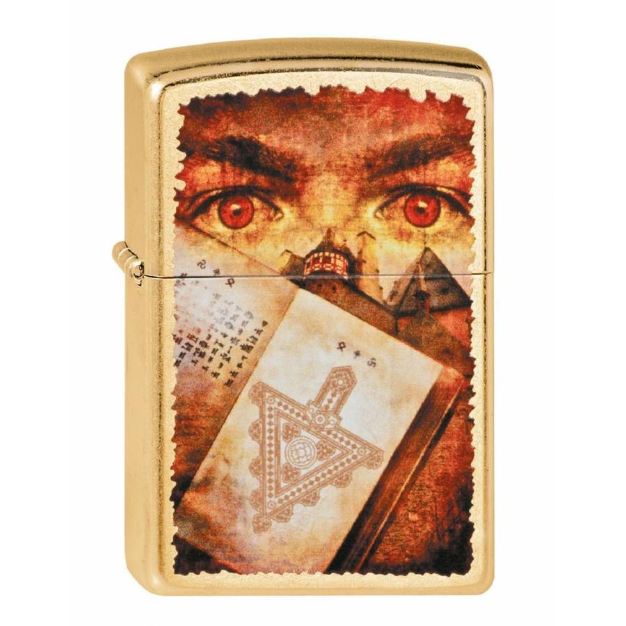 Lighter Zippo Goth - Eye Book