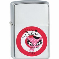 Lighter Zippo Pussy Deluxe French Red