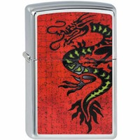 Lighter Zippo Tattoo Dragon