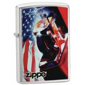 Zippo Lighter Zippo Mazzi USA Flag