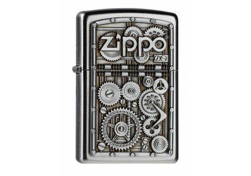 Aansteker Zippo Gear Wheels Emblem