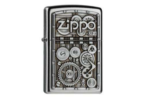 Lighter Zippo Gear Wheels Emblem