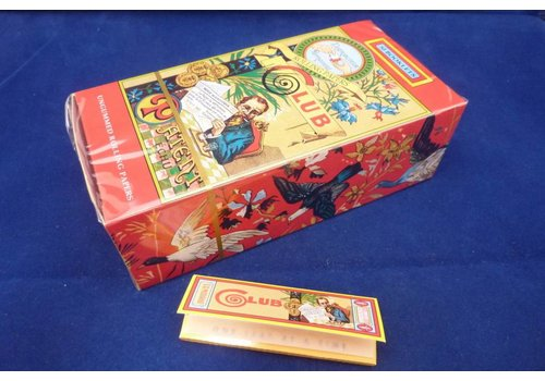Club Carre Rolling Paper Box
