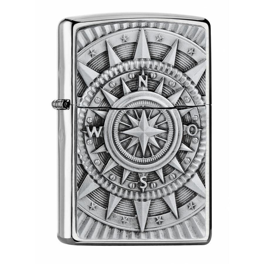 Aansteker Zippo Compass Emblem