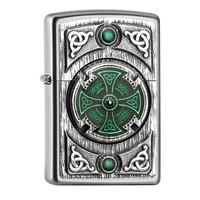 Aansteker Zippo Celtic Green Cross