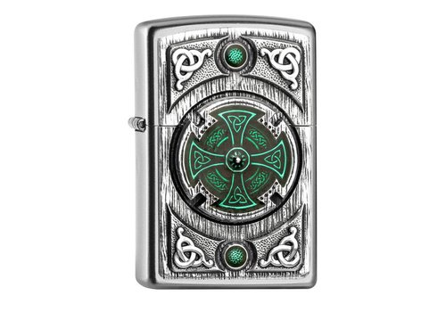 Aansteker Zippo Celtic Green Cross