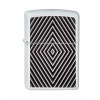 Lighter Zippo Black & White Window Design