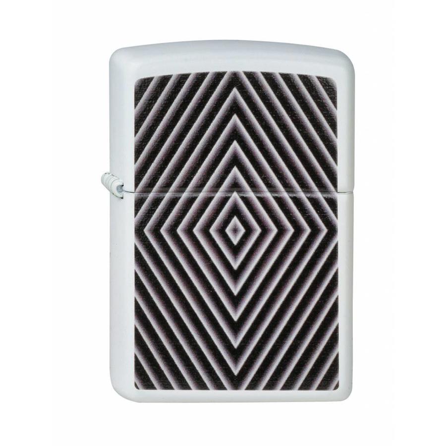 Aansteker Zippo Black & White Window Design