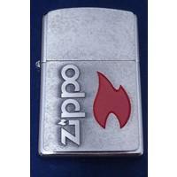 Aansteker Zippo Red Flame Emblem
