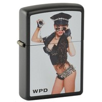 Lighter Zippo Woman Police Department