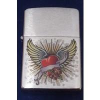 Aansteker Zippo Heart with Wings