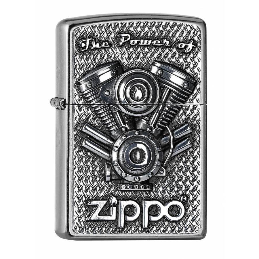 Aansteker Zippo The Power of V-Motor