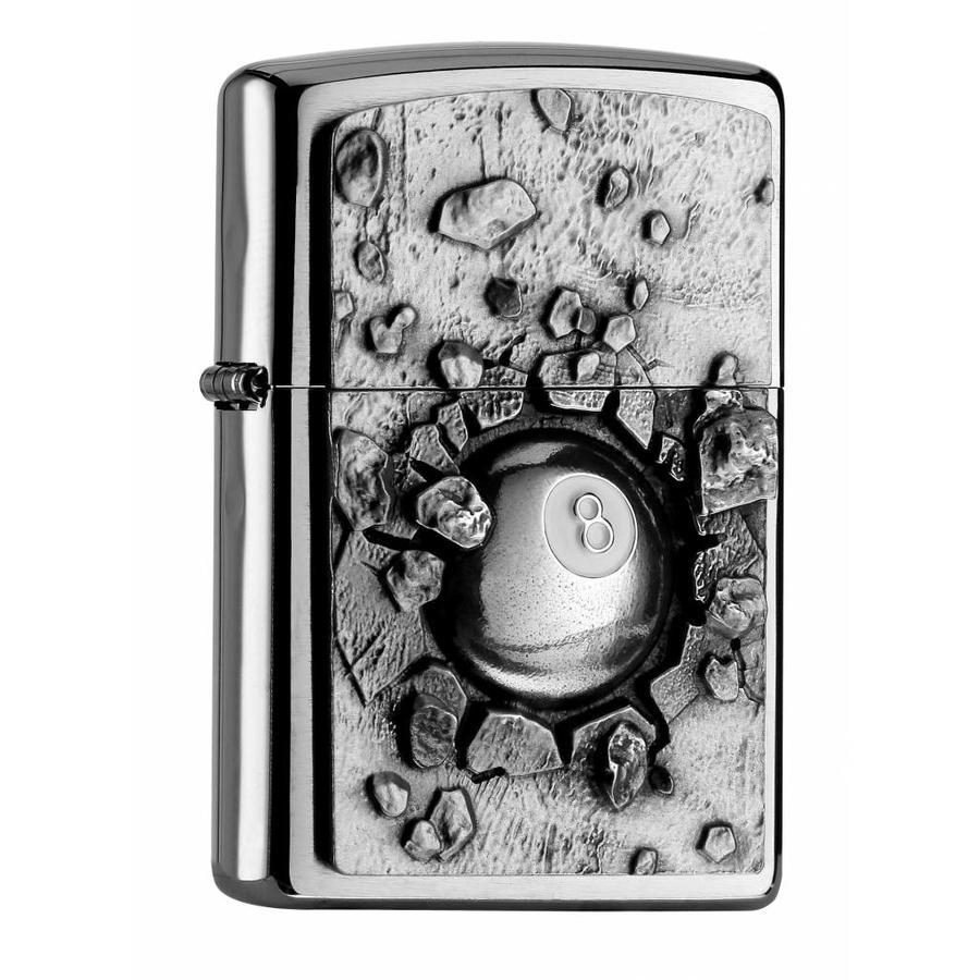 Aansteker Zippo Eight Ball Emblem